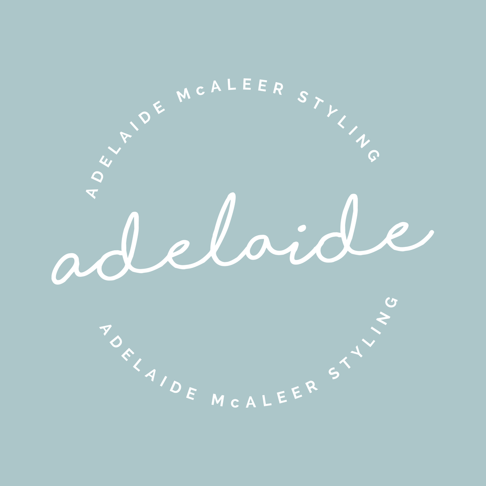 So excited to help Adelaide McAleer Styling launch her new brand! Adelaide's friends have been telling her to do this for a long time, and she finally took a leap of faith. If you need help with hair styling before an event, Adelaide's the girl to call. She has a great eye for fashion, flowers and beyond.