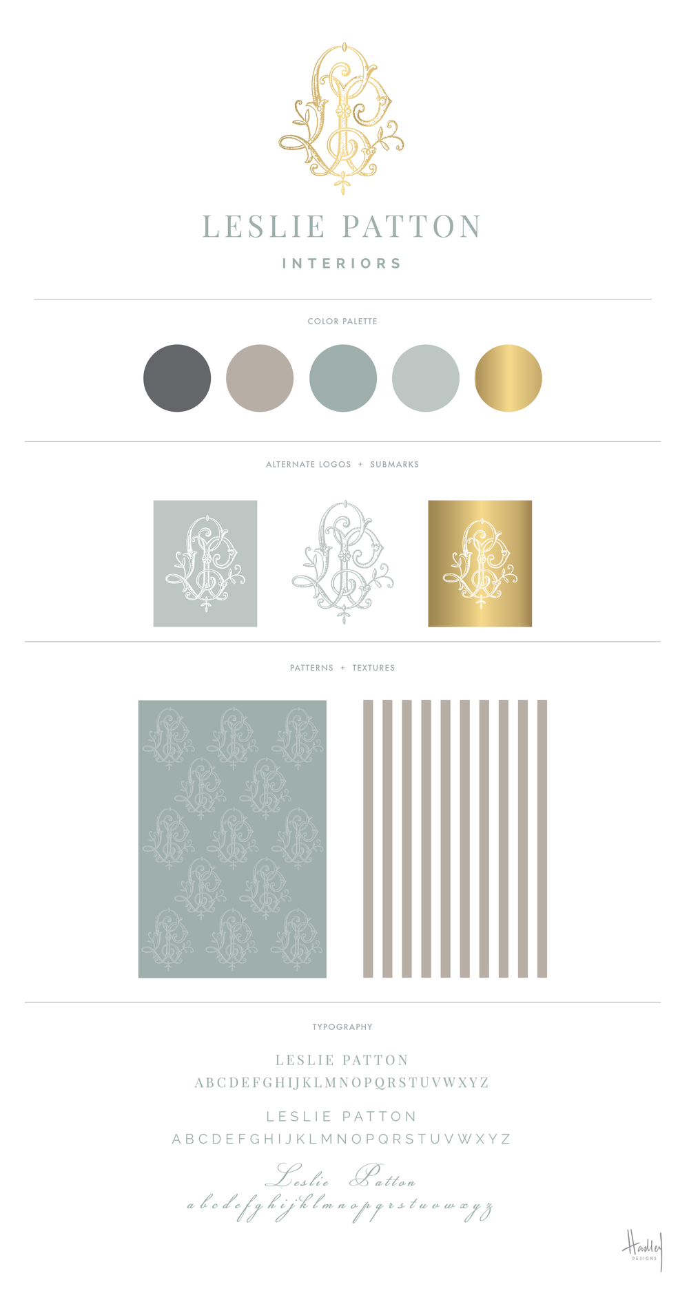 New branding and stationery for the talented Leslie Patton Interiors, located in Jackson, Tennessee. Leslie is an absolute JOY to work with, and I can't wait to get my hands on these printed pieces very soon. New website in the works! Stay tuned...
