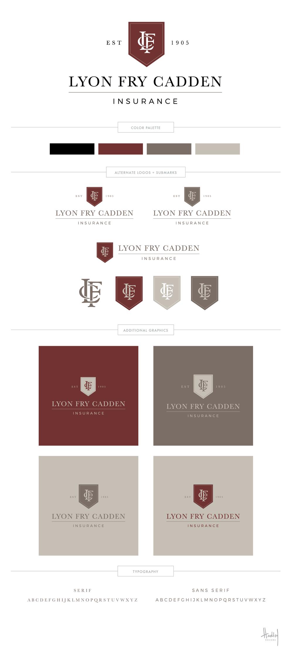 Lyon Fry Cadden - Hadley Binion Designs