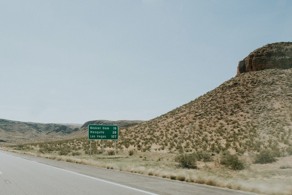 Long day of driving- a total of 16 hours from Denver to Las Vegas.