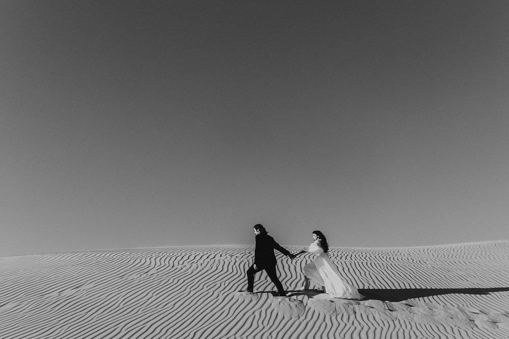 Sand Dunes Elopement Photography