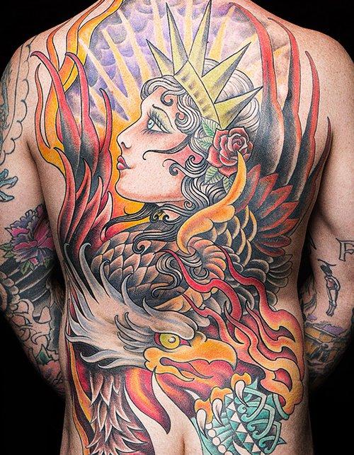 970425601 Daredevil Tattoo