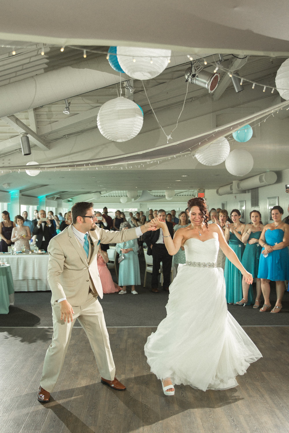 Modern First Dance of the Bride and Groom