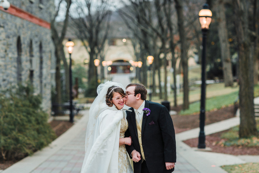 Lehigh University Wedding Portrait
