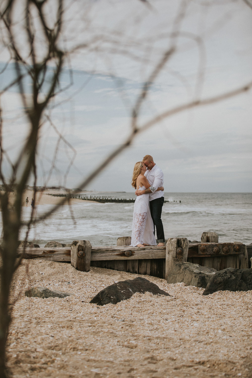 Jersey Shore Beach Wedding Photo