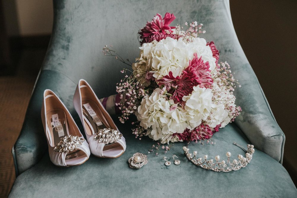 Bride Details Photo NJ Wedding Photographer Flowers Shoes.JPG