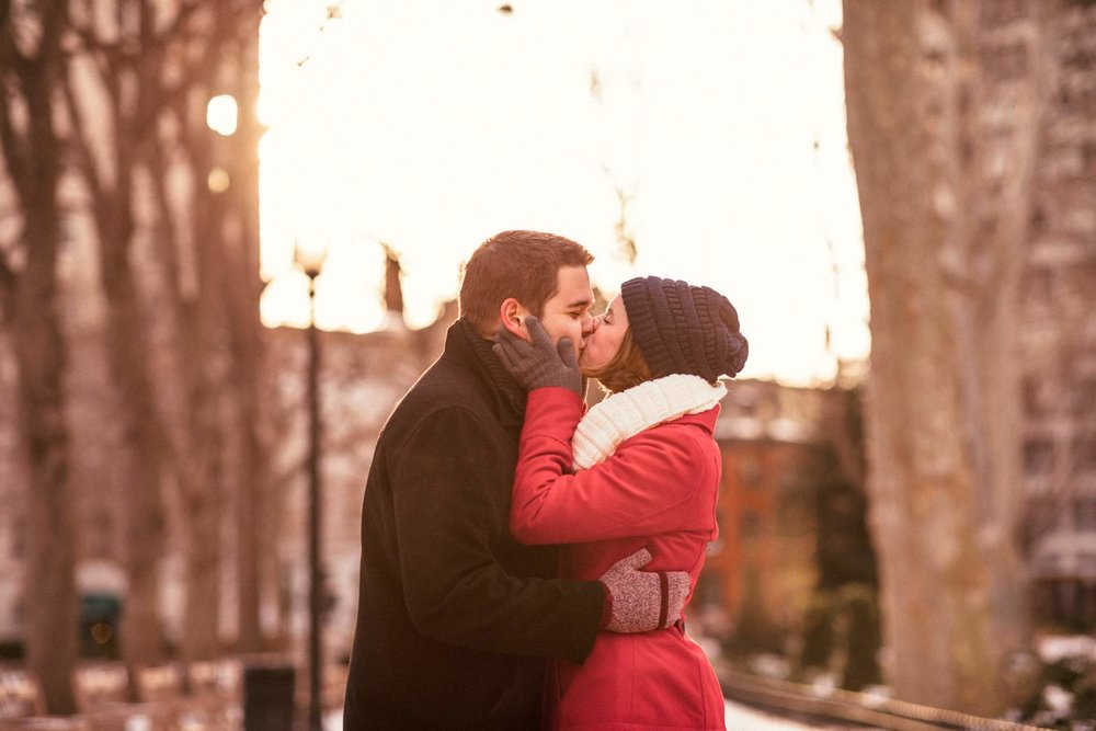 Rittenhouse Square Philadelphia Engagement Session