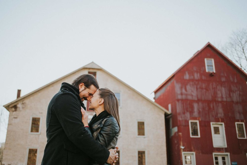 Prallsville Mills Engagement Session