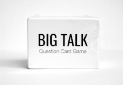 Enter the  Amazon Giveaway  (only works in US) and choose your favorite new BIG TALK question with the chance to win a free set of the cards. You can also  order  the   cards on Amazon  or  place pre-orders to Singapore . In the meantime, I am working to make the card game more accessible to everyone. You can also always email me for a list of the questions (just state your purpose).