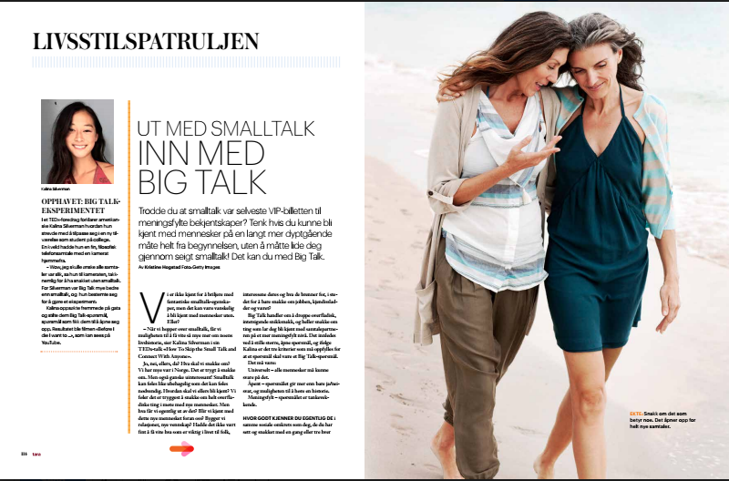 TARA, Norwegian Magazine