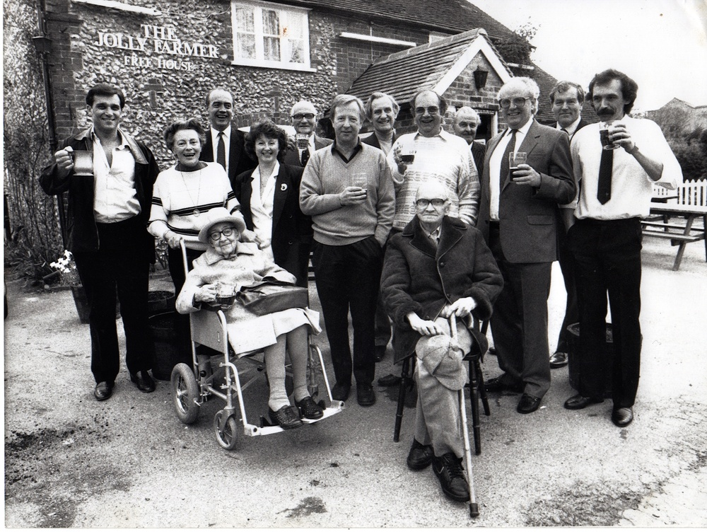Photo of Orginal Shareholders - B&W - 10 May 1988.jpg