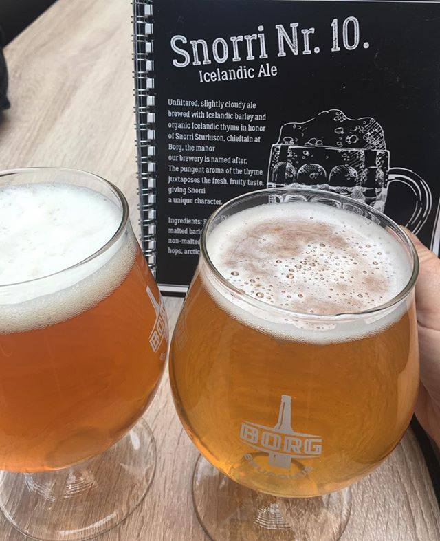 Icelandic beers! Yum!