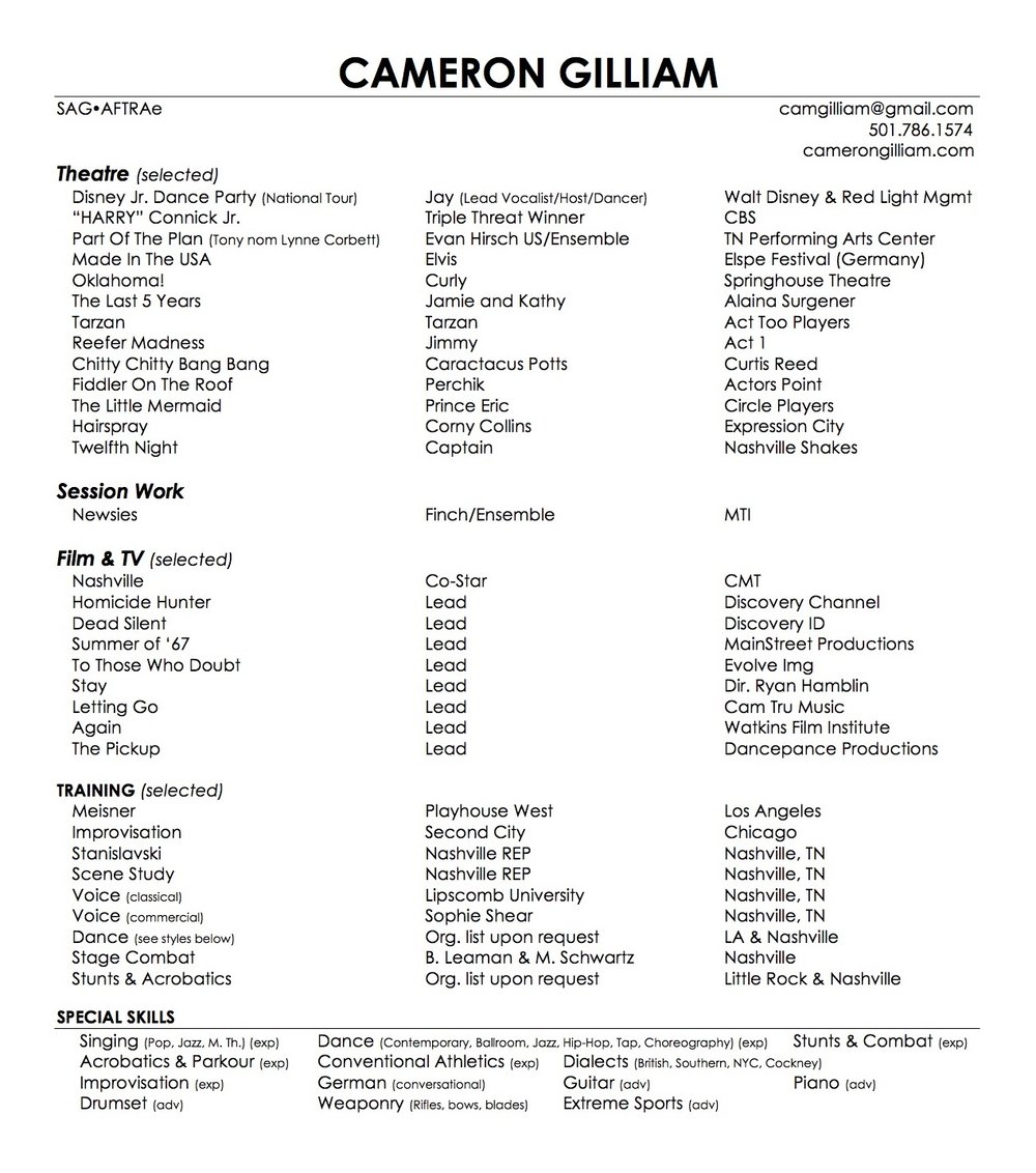 Theatre Resume - Cameron Gilliam.jpg