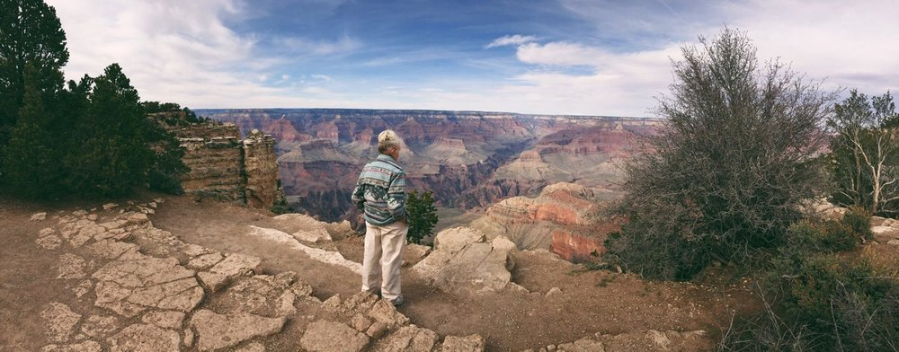 "She puts the ""GRAND"" in Grand canyon"