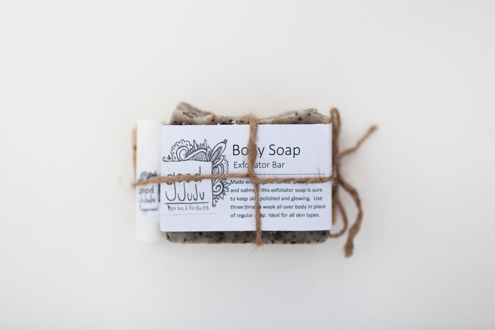 "If you want to make the gift a little more polished than just a bar of soap the simple gift set comes in handy. Pair with any scent of your choosing to say ""Hey (man in your life), you work hard and buying for guys is really hard but this soap is really nice and this is something I know you will use, hopefully."" ($12)"