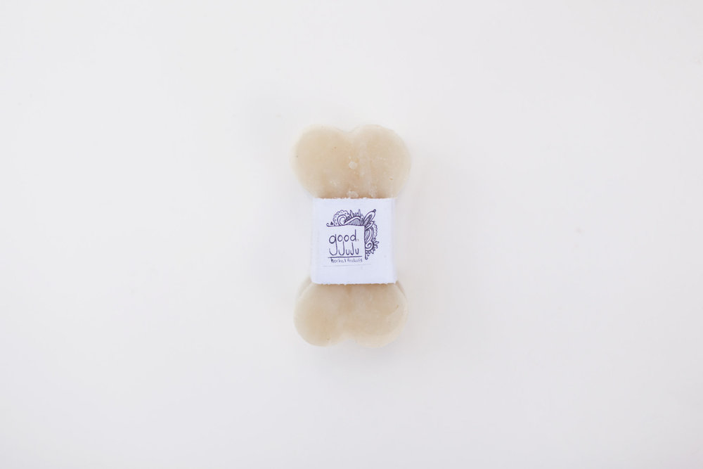 Dog soap is a great stocking stuffer for your dog or dog lover! This natural dog soap leaves dog's coats fluffy and soft. This soap is also made with a blend of essential oils that will repeal fleas and ticks and soothe any pup during bath time.  ($6)
