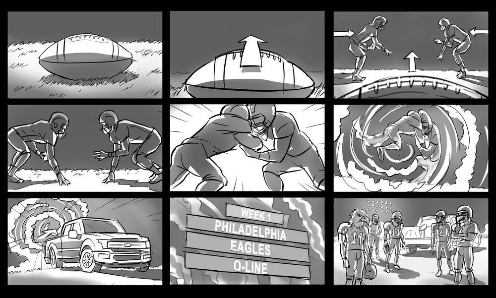 Storyboards — Peter Neill
