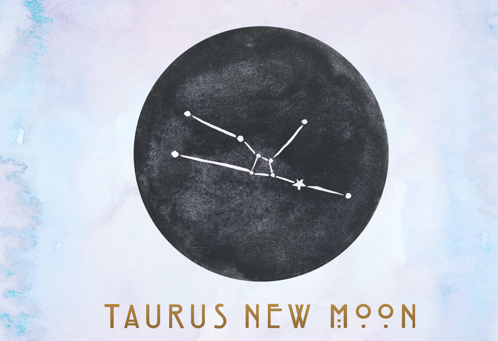 Taurus New Moon by Shamanessa Goddessa