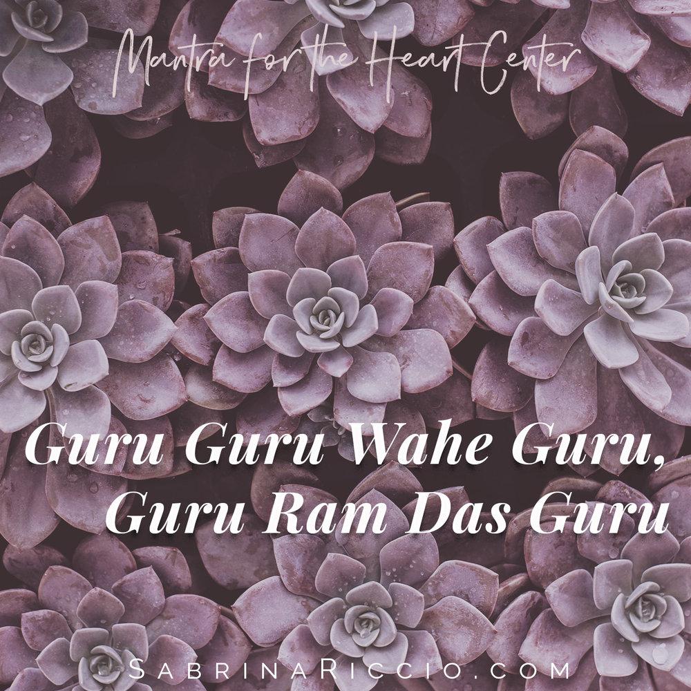 Guru Ram Das | Mantra for Miracles | SabrinaRiccio.com