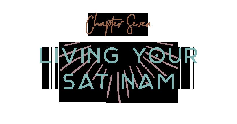 living your sat nam
