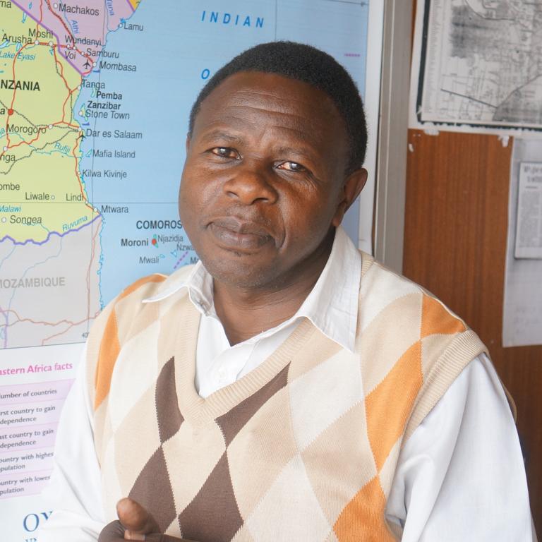 Evans Onchiri -Westland Sub-County Coordinator