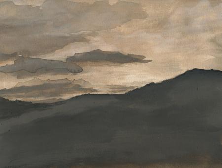 sepia-landscape
