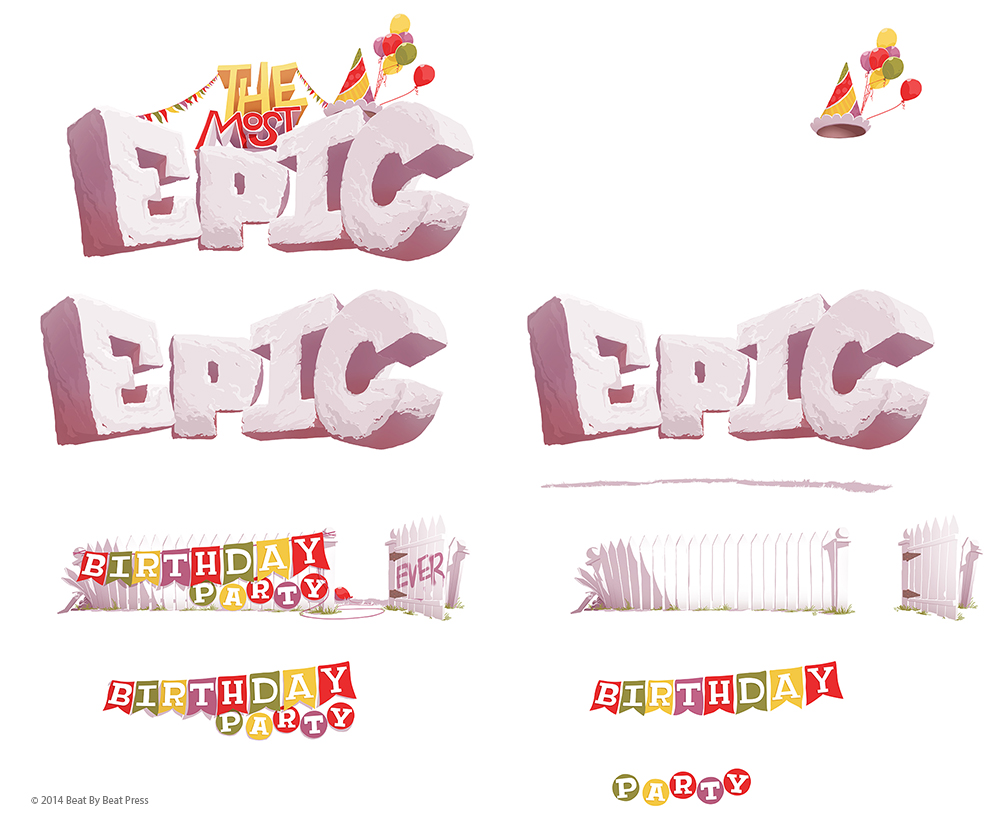 MatthewCook_Epic Birthday_breakdown artwork