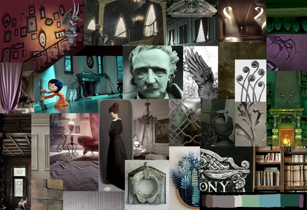 project moodboard