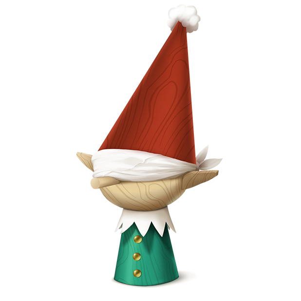 Blindfolded Elf