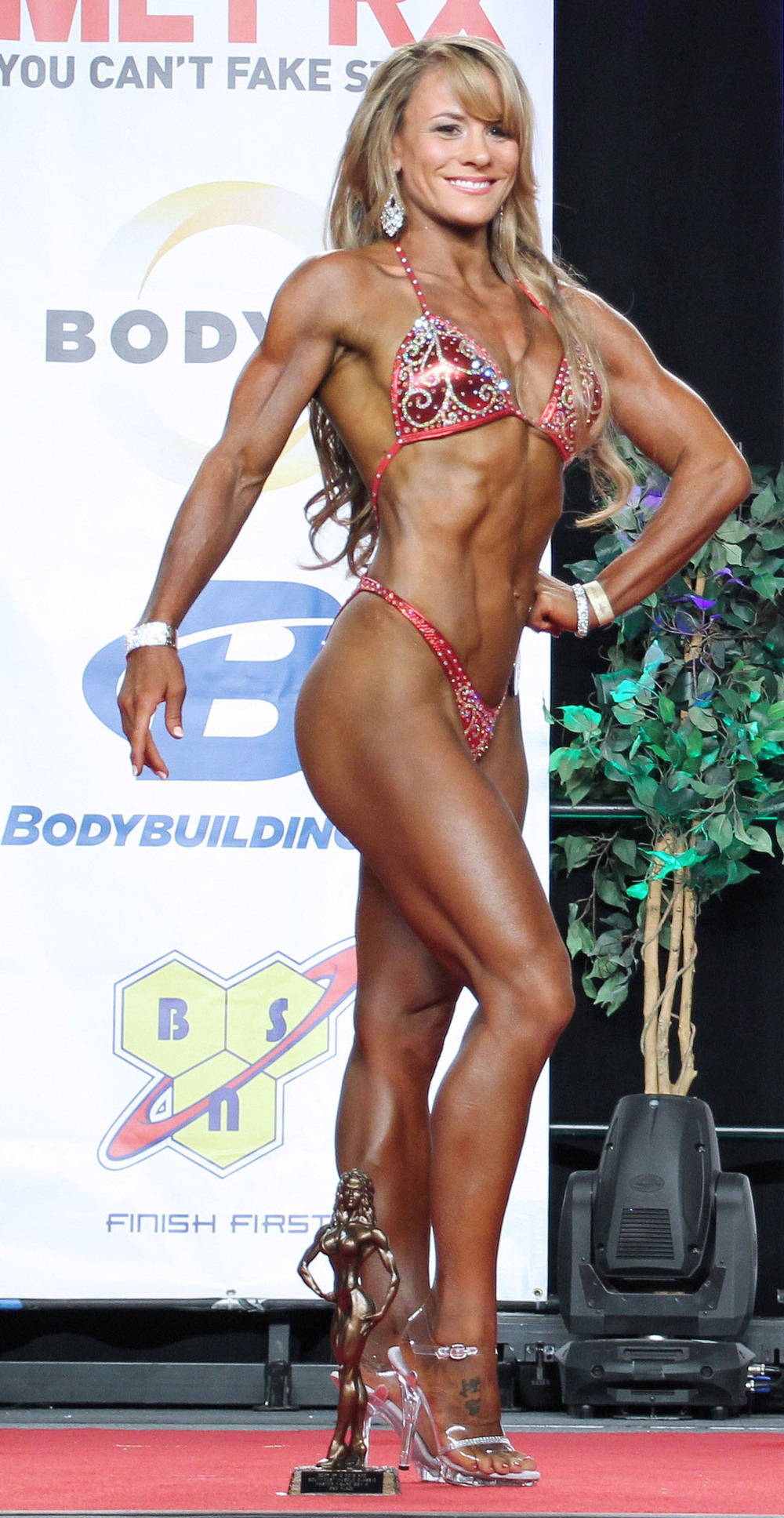 Sophia Drysdale, her diet for Ms Figure.