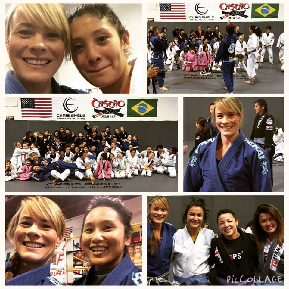Rowder Rollers. All women's open mat event in Las Vegas.