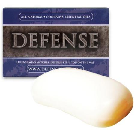 Defense soap, and with tea tree oil which is good for battling the nasties but not so harsh on your skin.