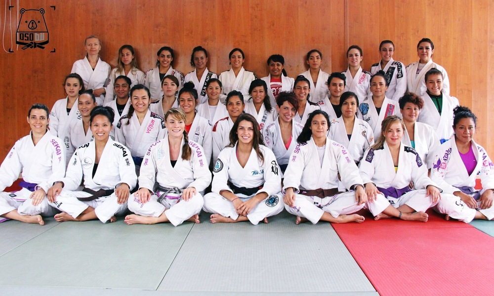 Queens of the mat in Mexico.