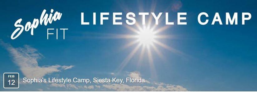 SophiaFIT lifestyle camp