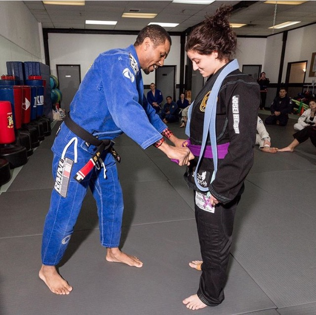 Leeaan recieved her purple belt!!!