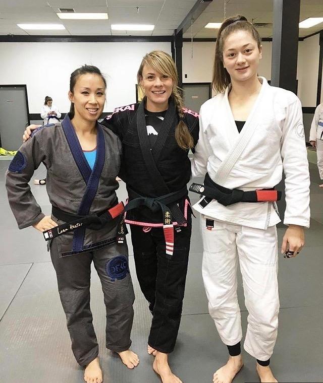 Black belt babes ;)