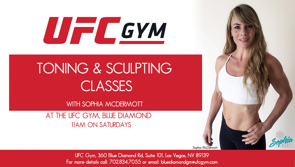 Toning & Sculpting Classes Banner 11am, sophia McDermott
