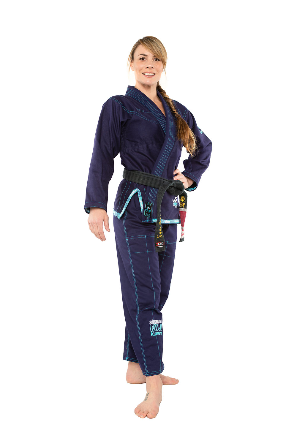- Check out the beautiful new navy and teal Fuji Sports gis. The new Superato gi is a women's cut that fits perfectly.Message me for the VIP discount code. You can orders  here!!!