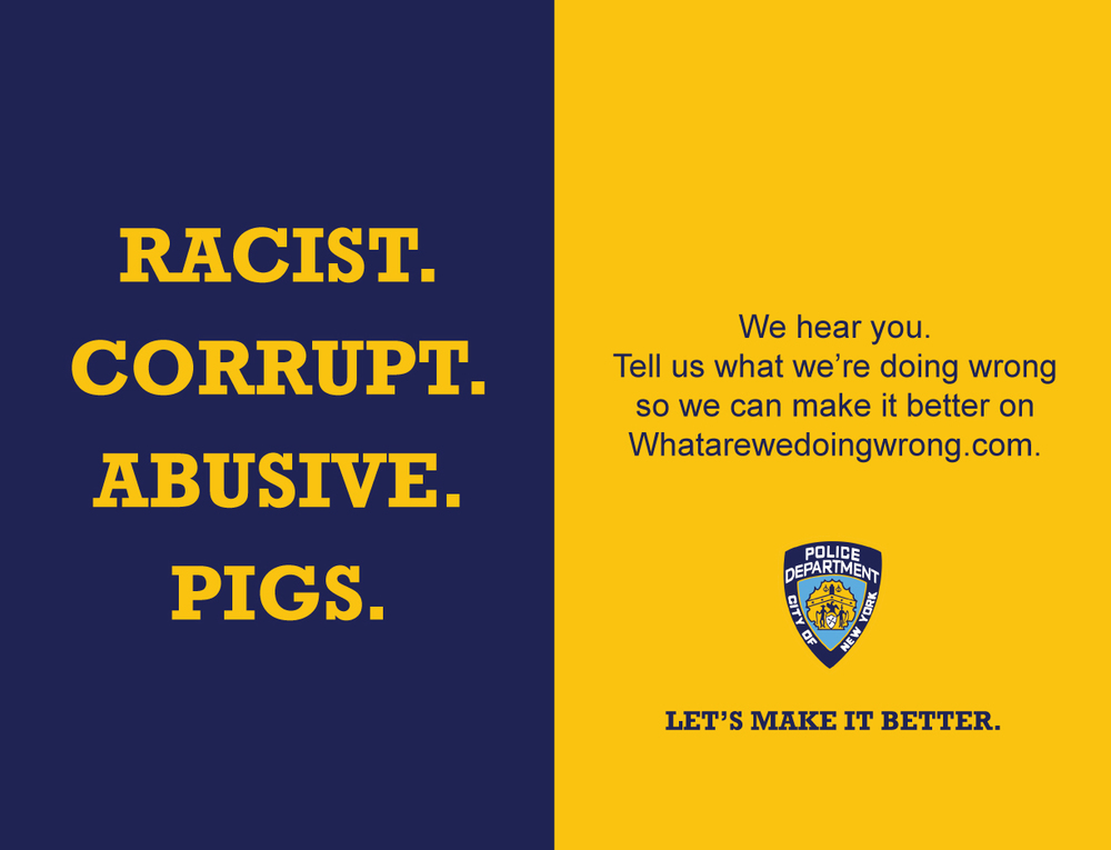 Two sheet posters will appear on the platforms in New York City subways.