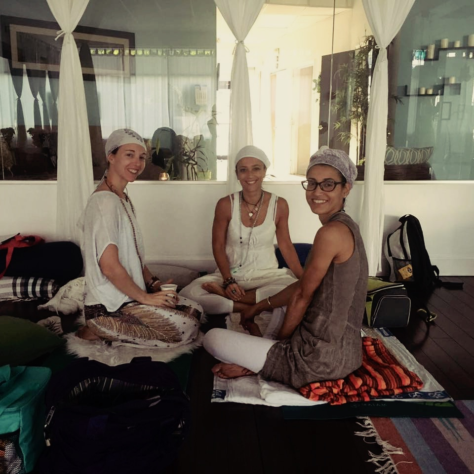 Two of my beautiful Kundalini Teacher Training sisters
