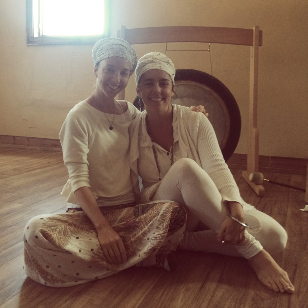 Dass Simran and Ra Ma Kaur Asheville October Kundalini
