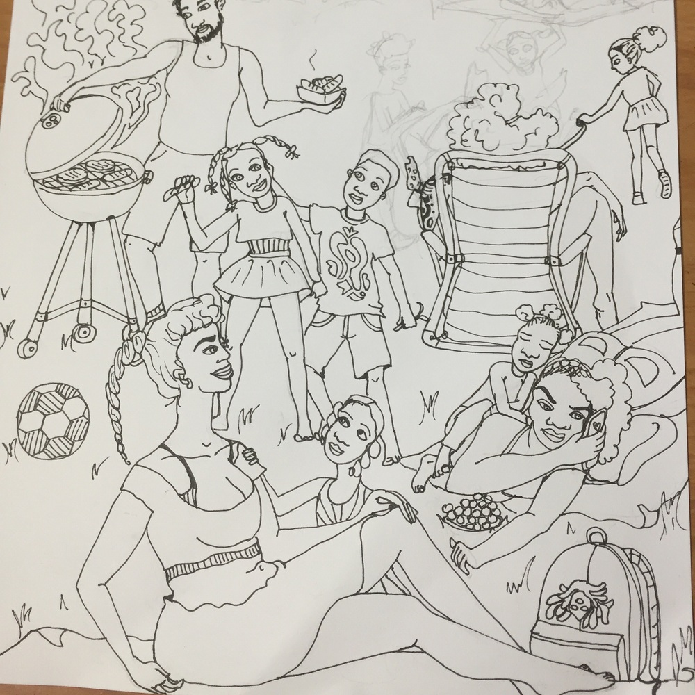 Picnic page in progress...