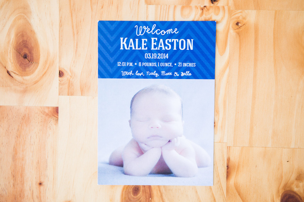 Birth Announcement | Digital Download | $15