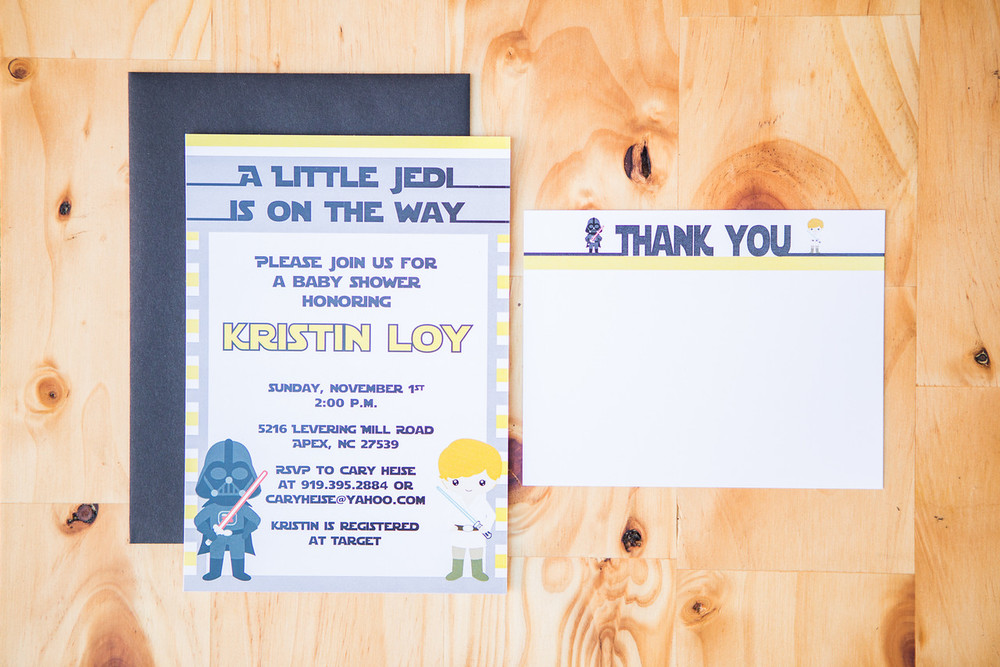 Starwars Baby Shower Invitation | Digital Download | $15