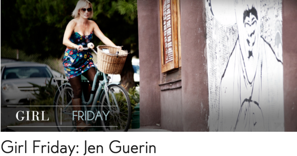 jennifer guerin move life style girl friday