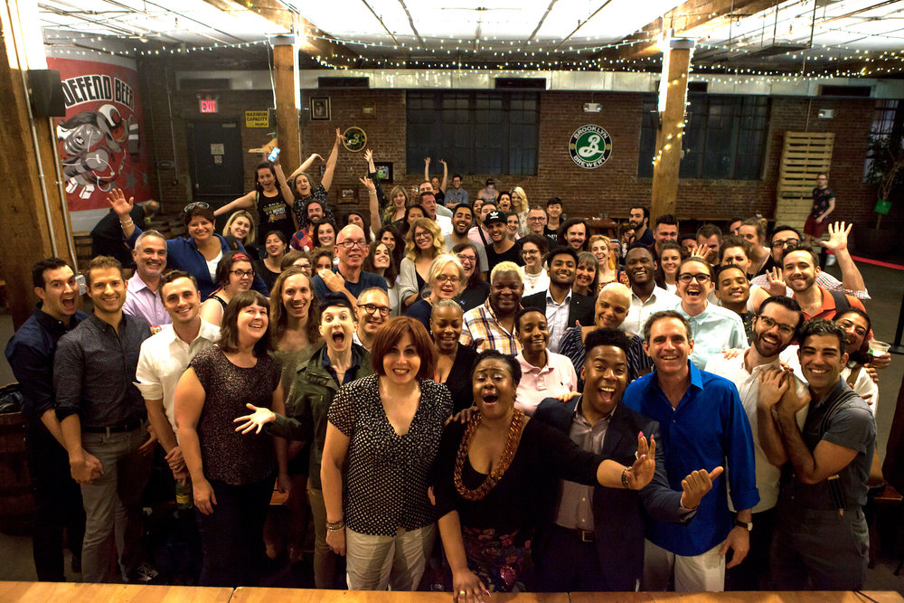 SpeakOut: Stories of Pride at Brooklyn Brewery. June 2017.