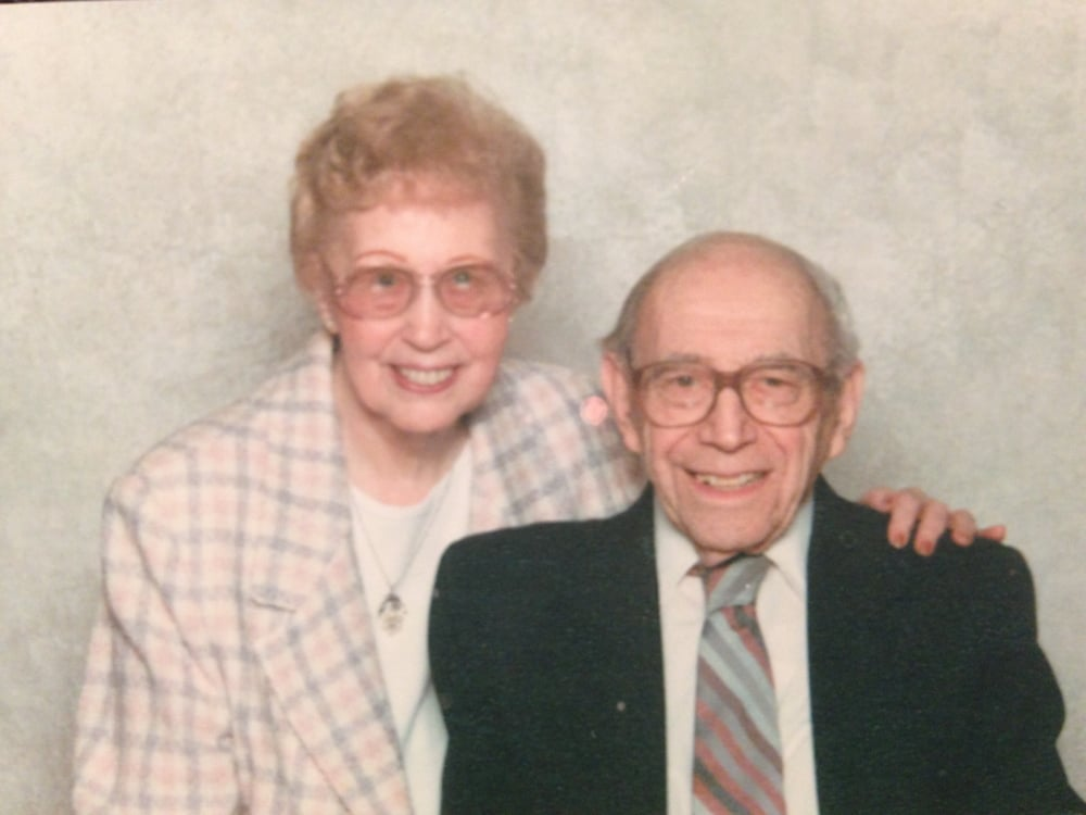 Rosemarie and Harry Steinfeld - my godparents