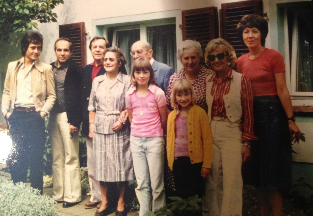 Family gathering at my grandfather's home in Goslar, Germany