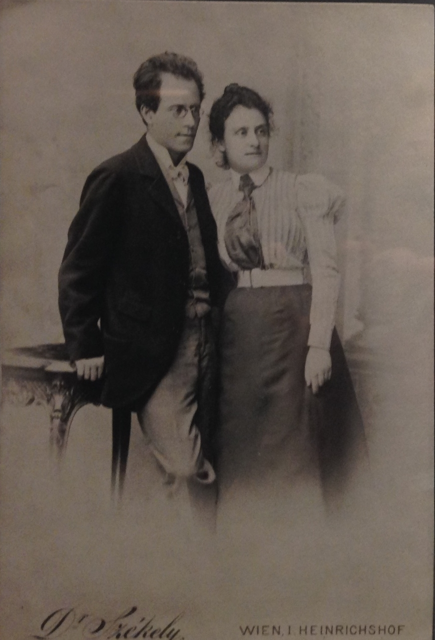 Gustav and Justine Mahler