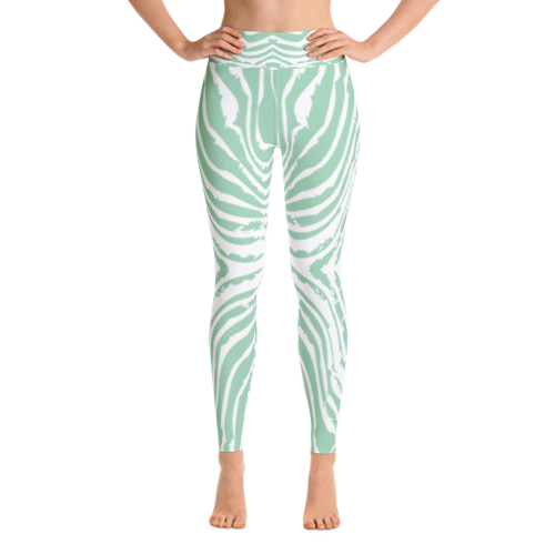 Legging Transparent Blanc 1